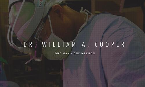 Promotional Website for Dr. Cooper